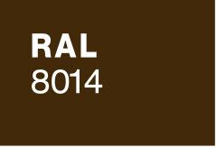 RAL 8014 ČOKO RJAVA woodgrain linijski