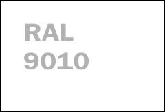 RAL 9010 BELA woodgrain linijski